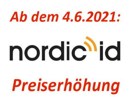 Nordic ID erhöht Preise!